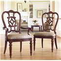 Thomasville® Fredericksburg Dining Side Chair with Upholstered Seat - Shown with Matching Arm Chair