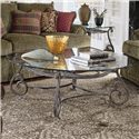 Thomasville® Grandview Round Cocktail Table - Shown in room with end table
