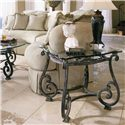 Thomasville® Grandview End Table - Shown with Round Cocktail Table