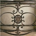 Thomasville® Grandview Console Table - Detail of front of console