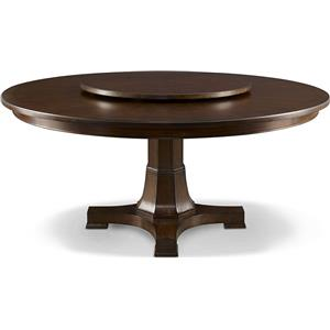 Thomasville® Harlowe & Finch Adelaide Round Dining Table w/ Lazy Susan