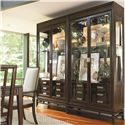 Thomasville® Lantau Bunching China Cabinet w/ Touch Dimmer  - Shown as Two China