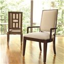 Thomasville® Lantau Upholstered Dining Arm Chair - Shown in Room Setting
