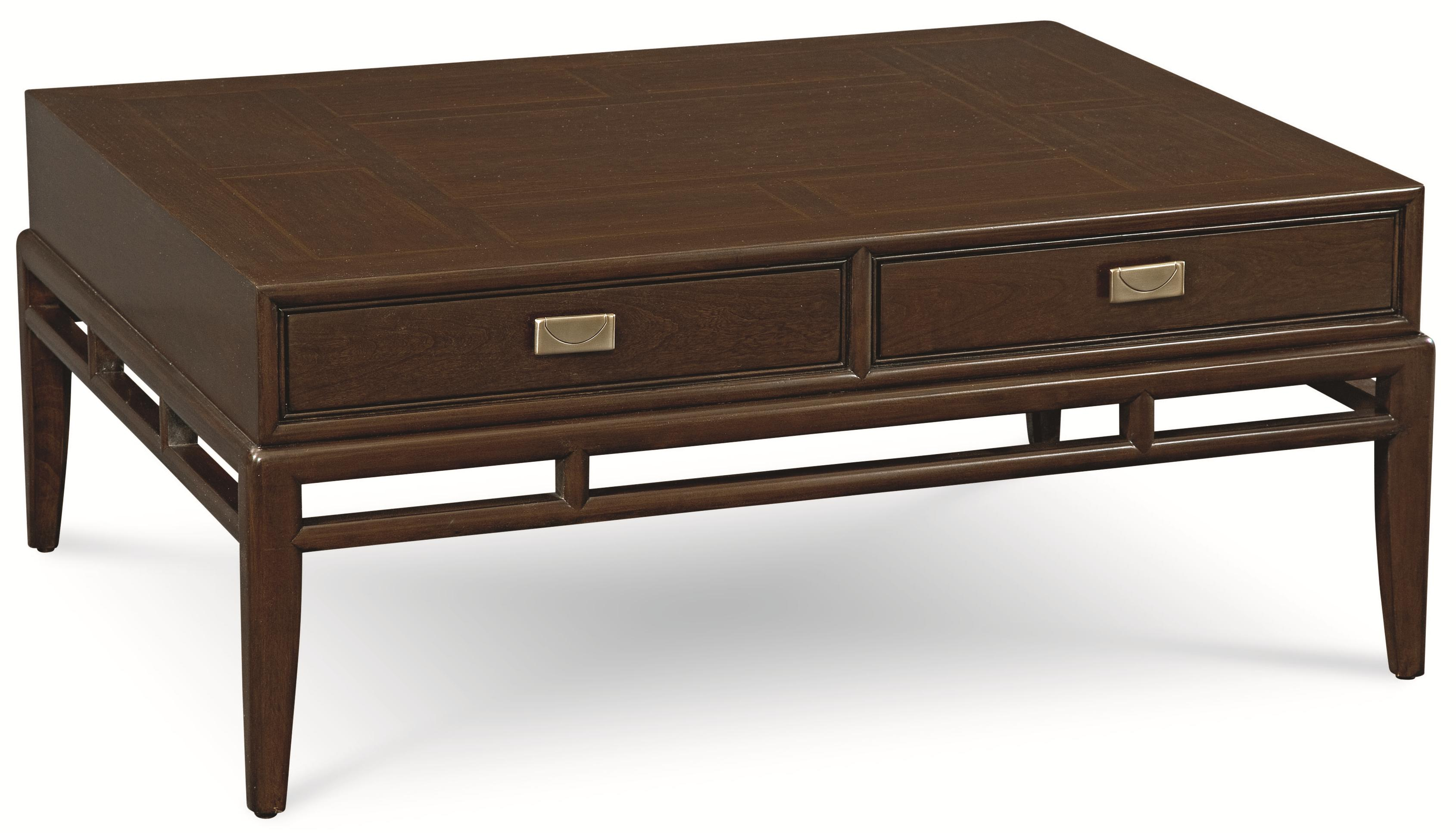 Thomasville Lantau 120 Rectangular Coffee Table w 2