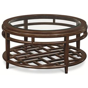 Thomasville® Lantau Round Cocktail Table