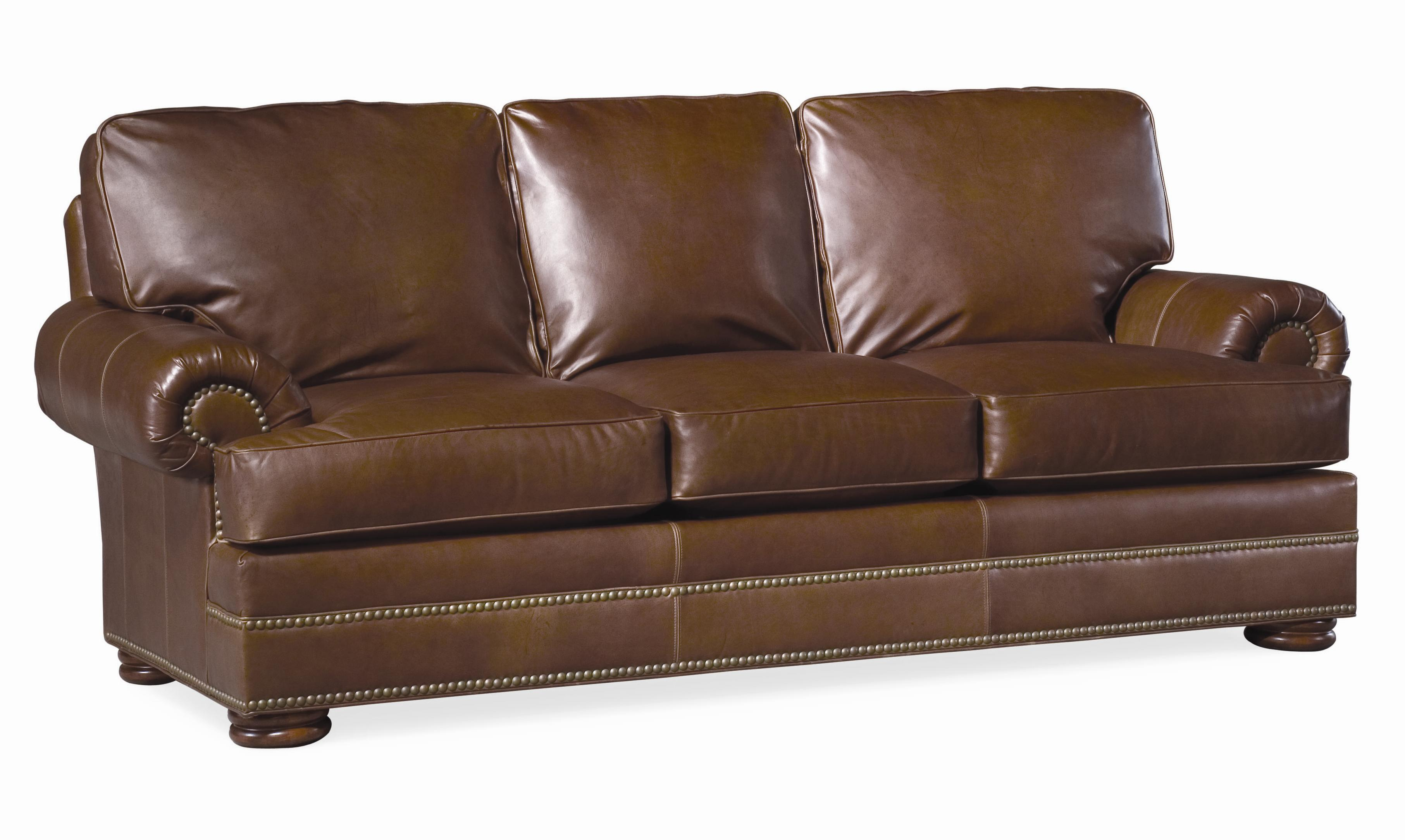 Thomasville Leather Choices Ashby Select Sofa Item Number 20706 520a