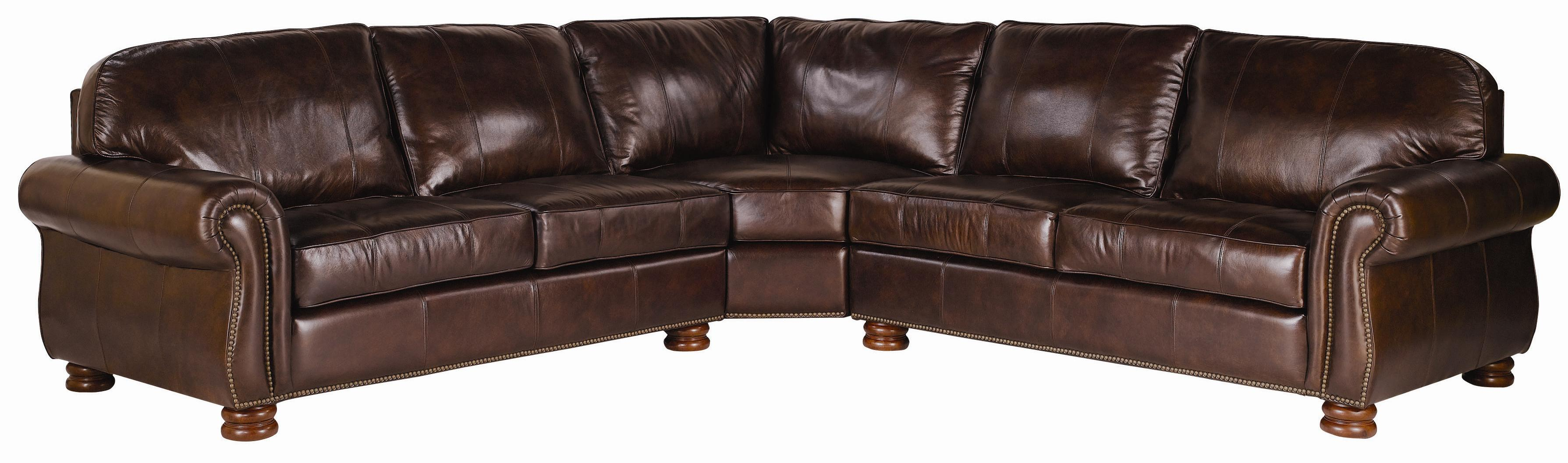 Thomasville Leather Choices Benjamin Leather Select 3 Piece
