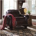 Thomasville® Leather Choices - Benjamin Leather Select Plus Motion Incliner  - Shown in Room Setting