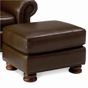 Thomasville® Leather Choices - Benjamin Leather Select Ottoman