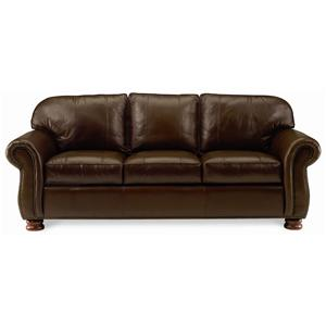Thomasville® Leather Choices   Benjamin Leather Select Sofa