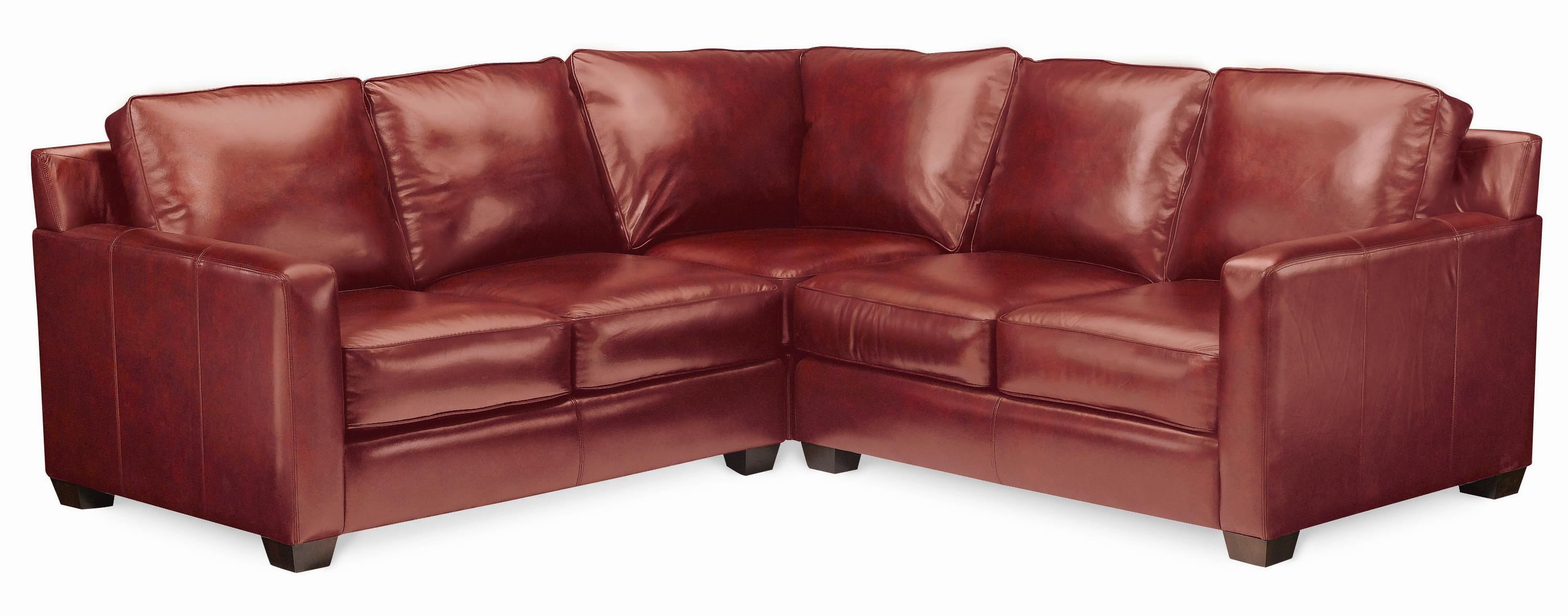 Thomasville Leather Choices Metro Select Plus Sectional Item Number 20923 Csec