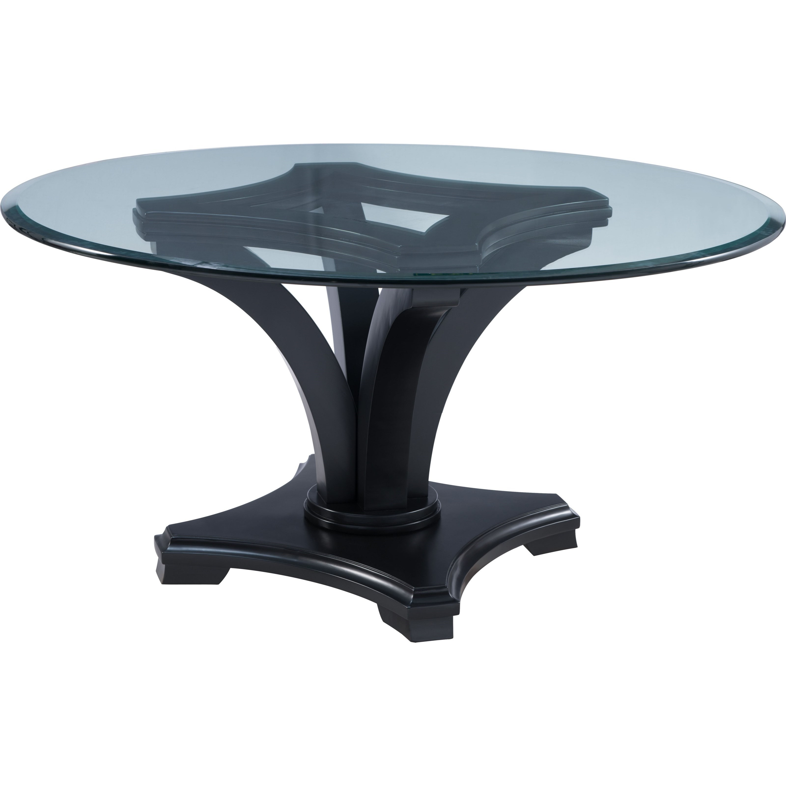 Thomasville® Manuscript Round Dining Table - Item Number: 82929-730-01GT+82929-730