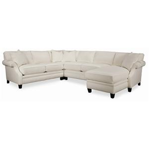 Thomasville® Mercer Series 4-Piece Sectional