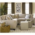 Thomasville® Mercer Series Sectional with Track Arms - Shown in Room Setting