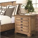 Thomasville® Reinventions Wainwright Nightstand w/ 3 Drawers - Shown in Room Setting