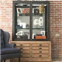 Thomasville® Reinventions Visualite Display Cabinet - Shown in Room Setting