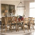 Thomasville® Reinventions 7 Piece Dining Set - Item Number: 46421-751+2x822+4x821