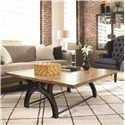 Thomasville® Reinventions Boulton and Watt Flip Top Coffee Table - Shown in Room Setting with Flipped Open Top