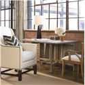 Thomasville® Reinventions Slater Mill Drop Leaf Table - Shown in Room Setting with Arm Chair
