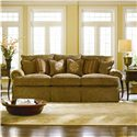 Thomasville® Special Values - Dolce Vita Dolce Vita 3-Seat Sofa with Skirted Base - Shown in Room Setting