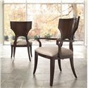 Thomasville® Spellbound Side Chair w/ Welted Slip Seat - Shown in Room Setting with Arm Chair