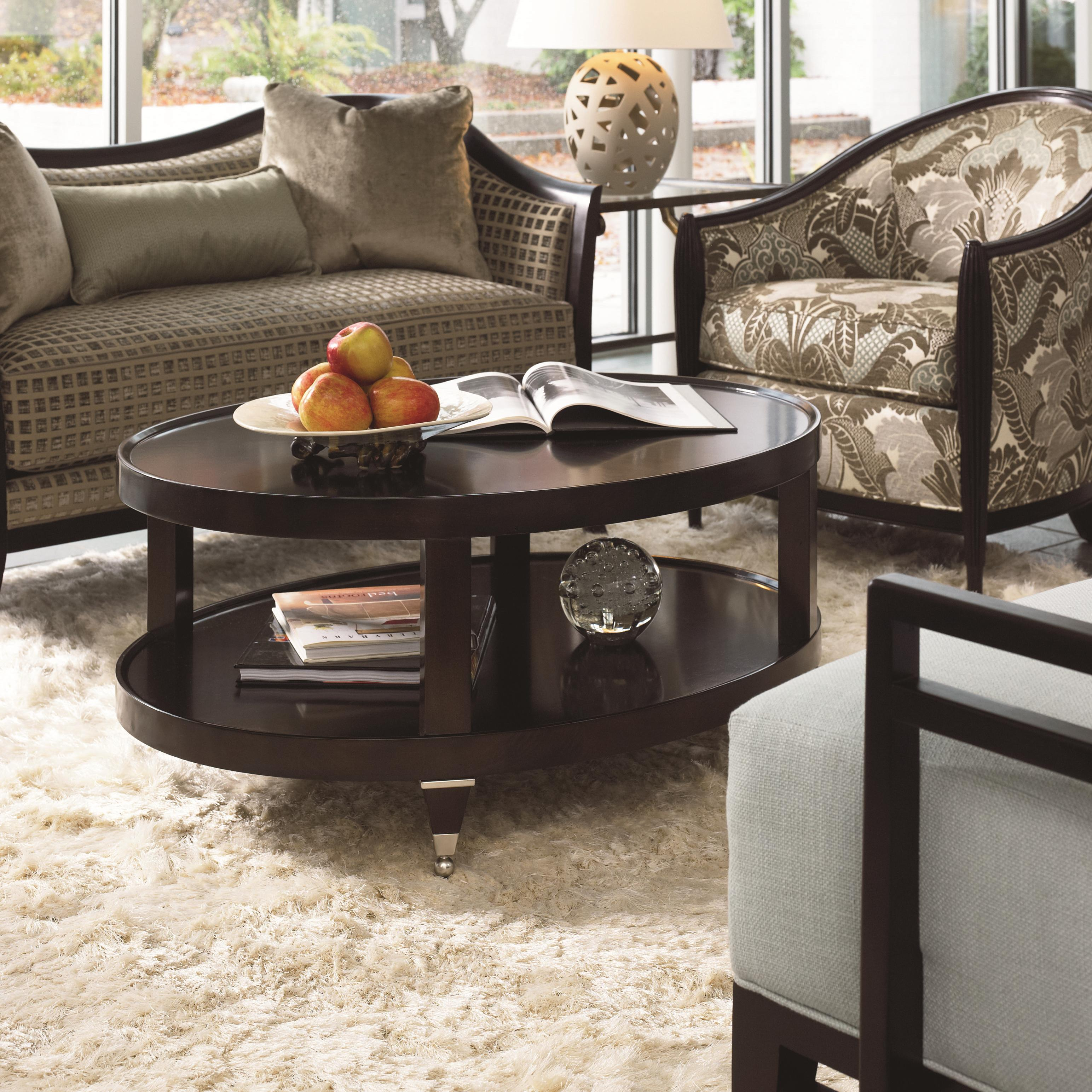 Thomasville® Spellbound Oval Cocktail Table - Item Number: 82231-140