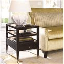 Thomasville® Spellbound End Table w/ Drawer - Shown in Room Setting