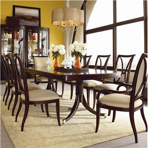 Thomasville® Studio 455 Nine Piece Dining Set