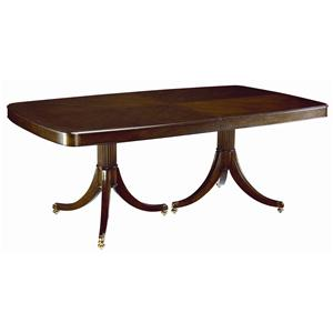 Thomasville® Studio 455 Double Pedestal Dining Table ...