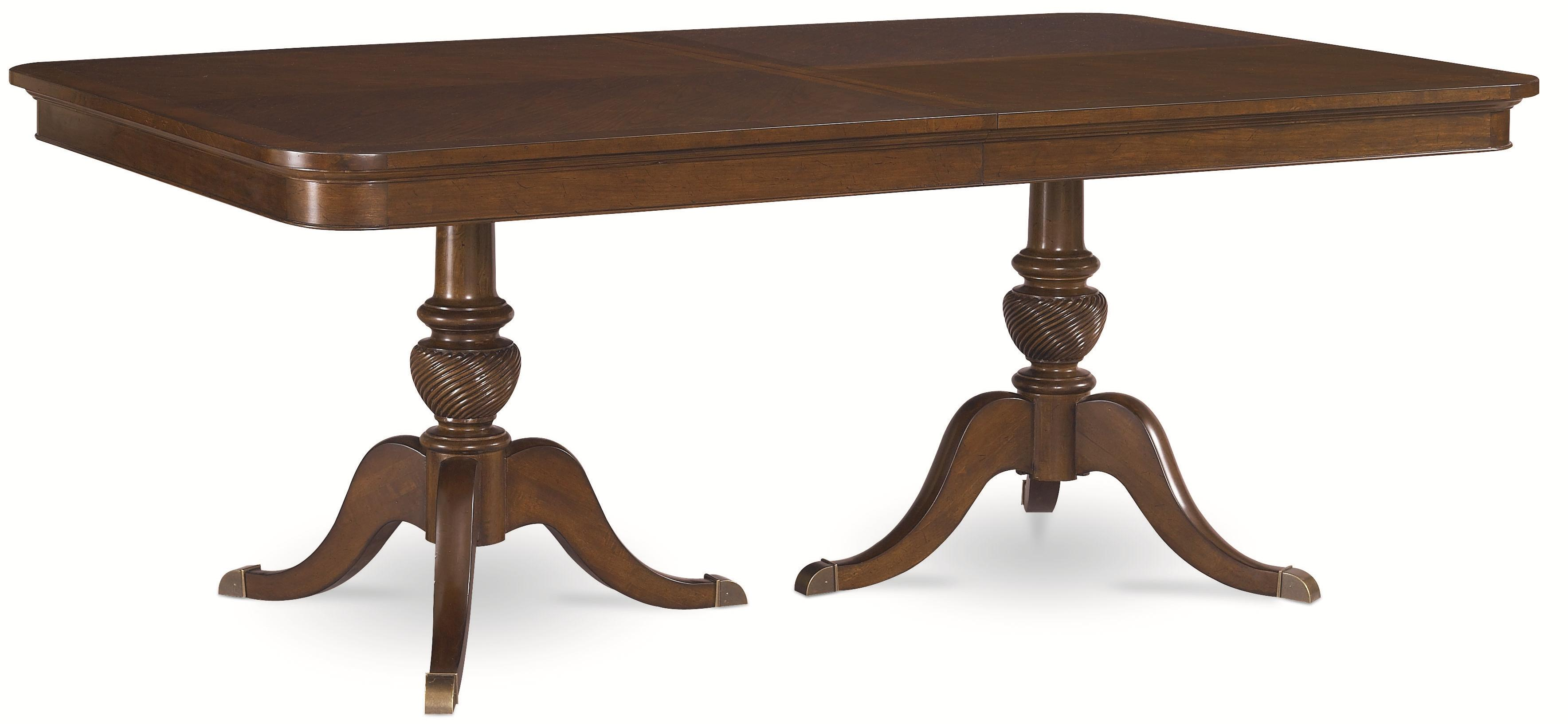 Thomasville® Tate Street Double Pedestal Table - Item Number: 46821-772