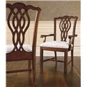 Thomasville® Tate Street Dining Arm Chair w/ Ribbon Back - Shown in Room Setting