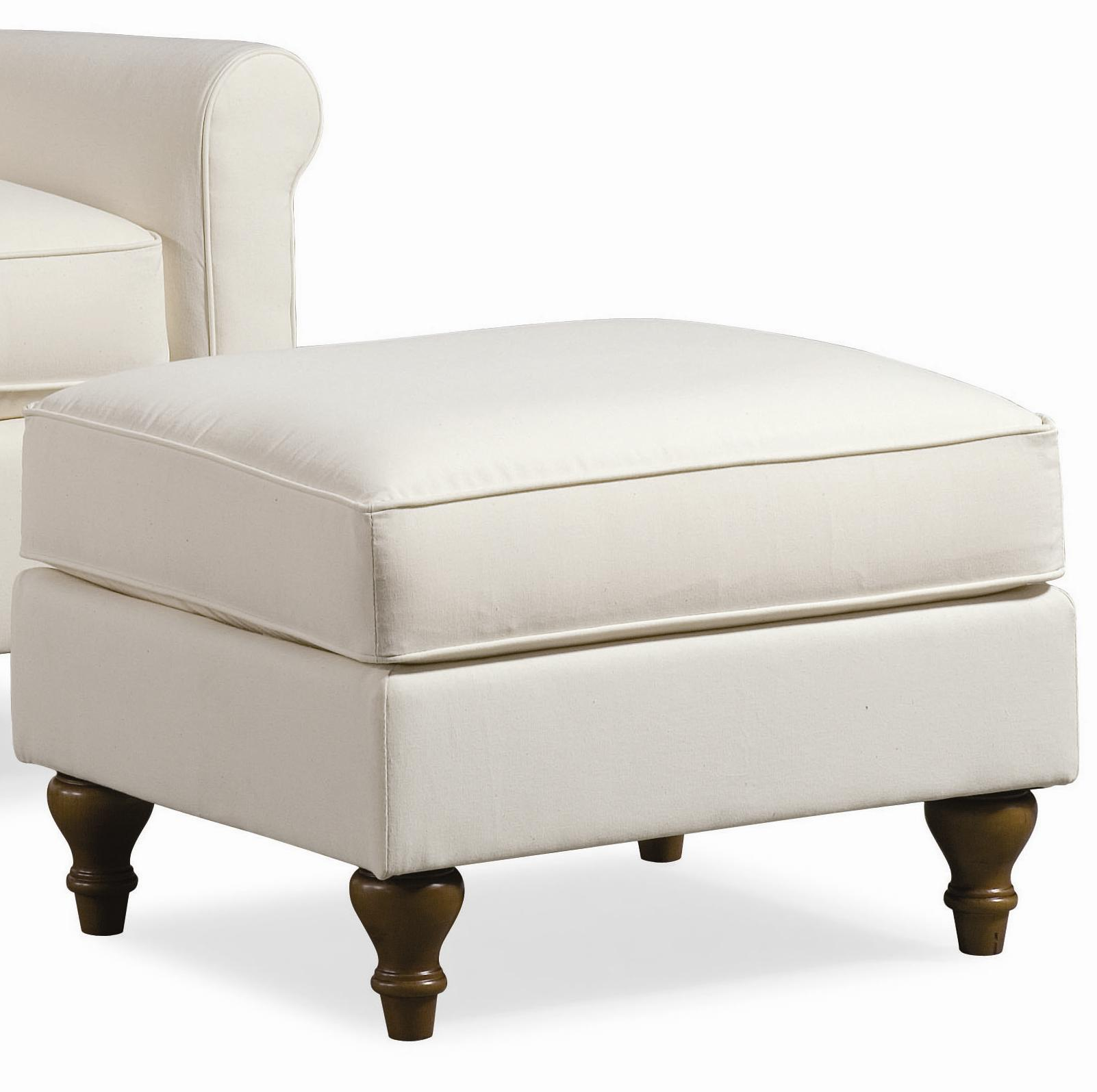 Thomasville Upholstered Chairs And Ottomans Solitaire