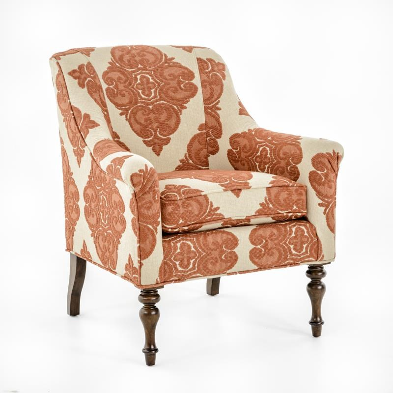 Thomasville® Upholstered Chairs and Ottomans Kiley Chair - Item Number: 2514-15 KIRBY