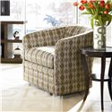 Thomasville® Upholstered Accents Sutton Swivel Glider Upholstered Chair - Shown in Room Setting