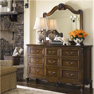 Thomasville® Vintage Chateau Dresser and Mirror