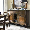 Thomasville® Vintage Chateau Dining Room Buffet - Angled View in Room Setting