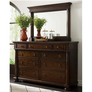 Thomasville® Wheatmore Manor Dresser and Mirror