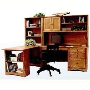 Thornwood Shelburne Deluxe Desk w/Return