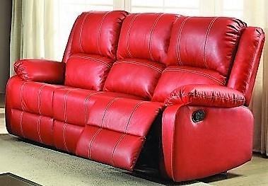 Titanic Furniture L611 Casual Sofa Red Dream Home Furniture