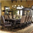 Tommy Bahama Home Kingstown 7Pc Dining Room - Item Number: 0619-7Pc