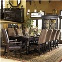 Tommy Bahama Home Kingstown 8Pc Dining Room - Item Number: 0619-8Pc