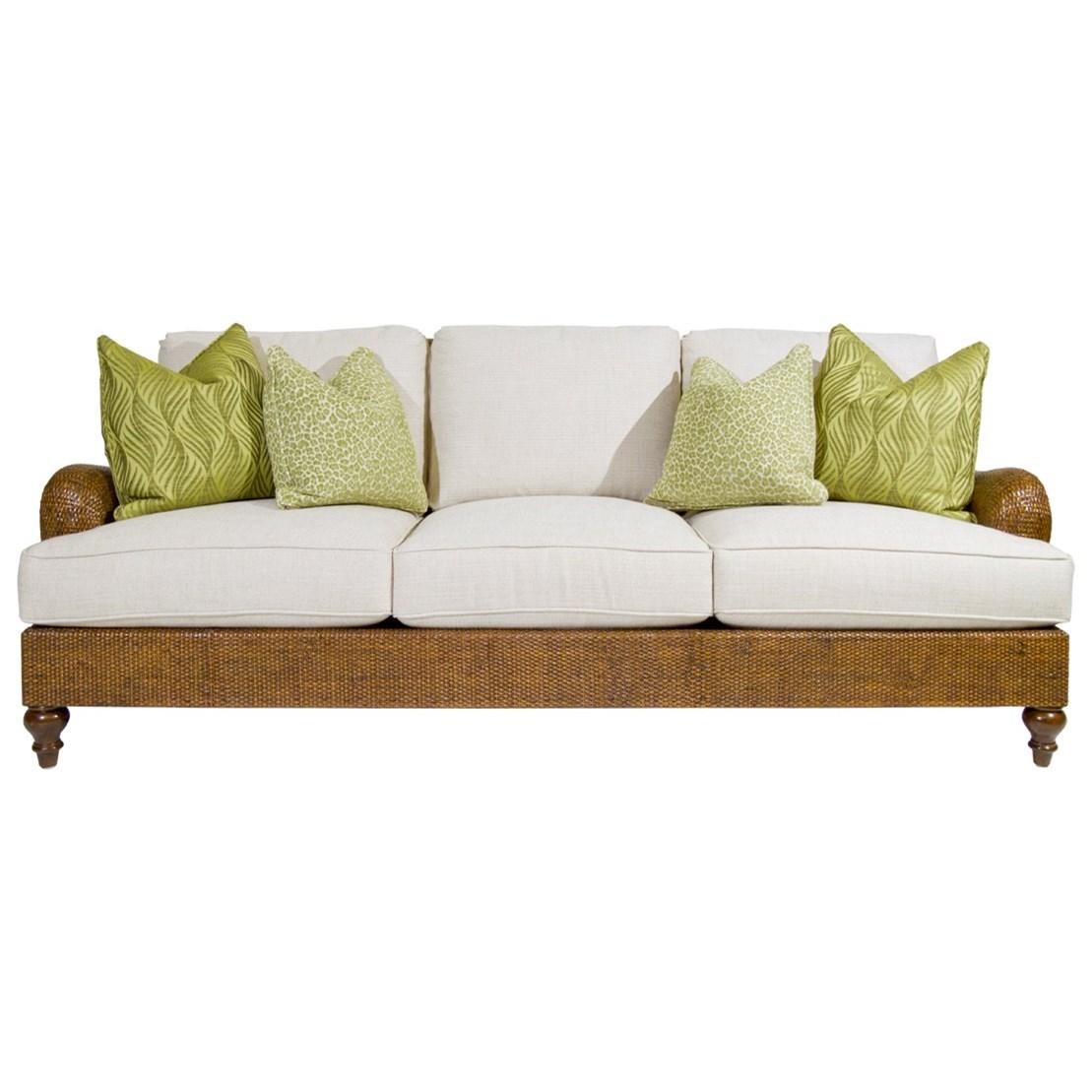 Bali Hai Harborside Sofa by Tommy Bahama Home at Baer's Furniture