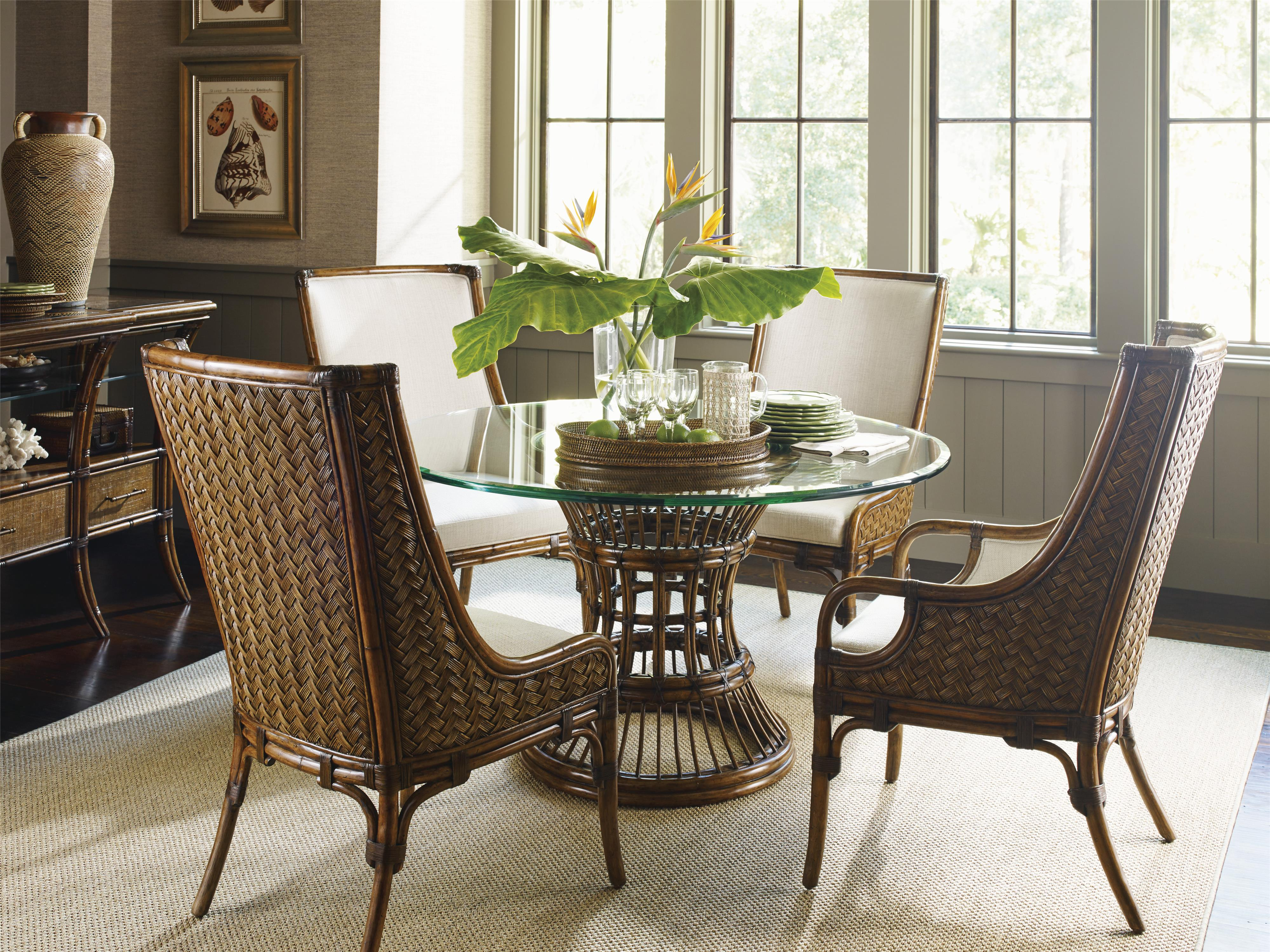 Tommy Bahama Home Bali Hai Formal Dining Room Group Baer
