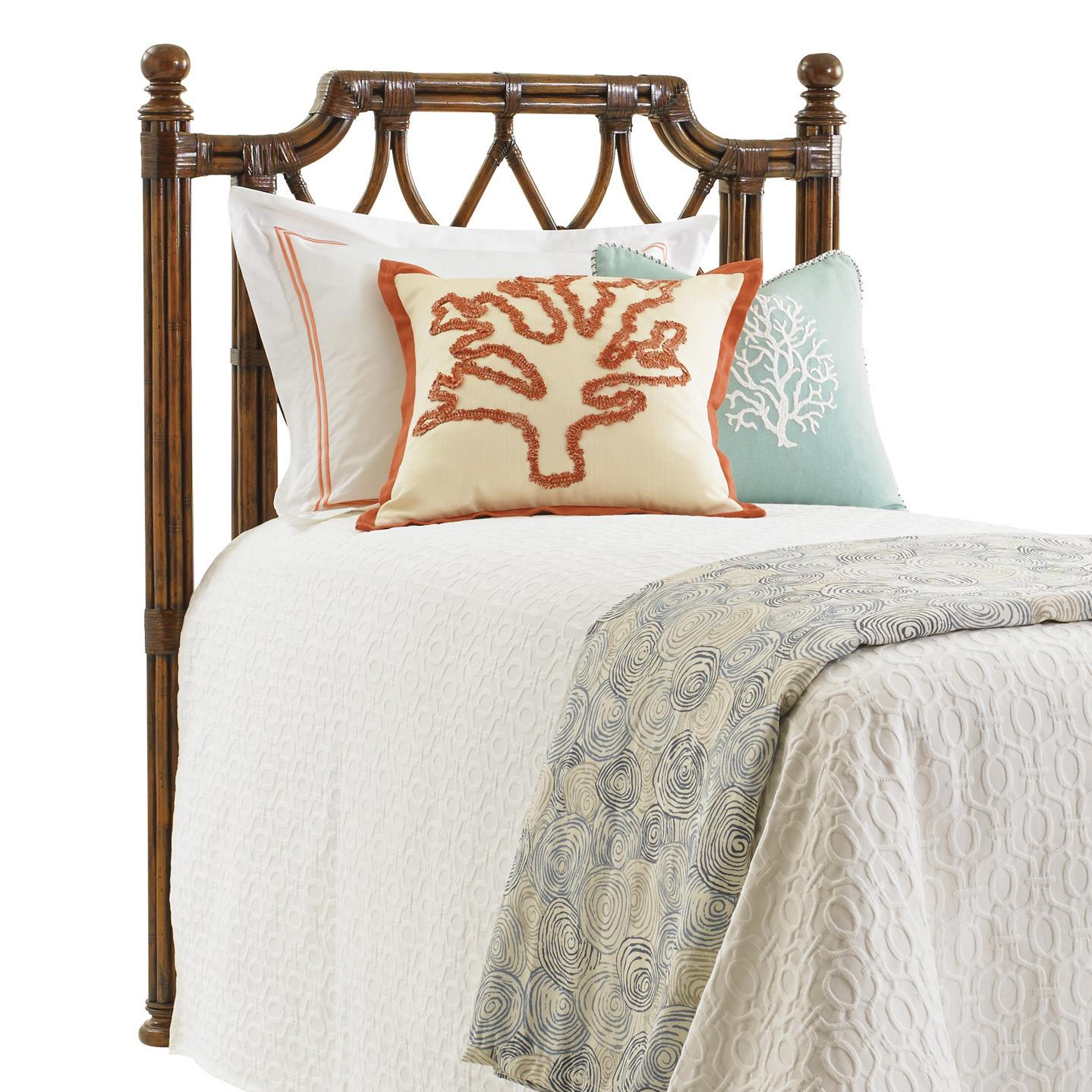 Tommy Bahama Home Bali Hai Island Breeze Twin Headboard - Item Number: 593-131HB