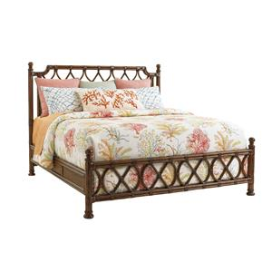 Tommy Bahama Home Bali Hai  Island Breeze Rattan Bed