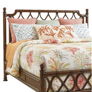 Island Breeze Rattan Headboard