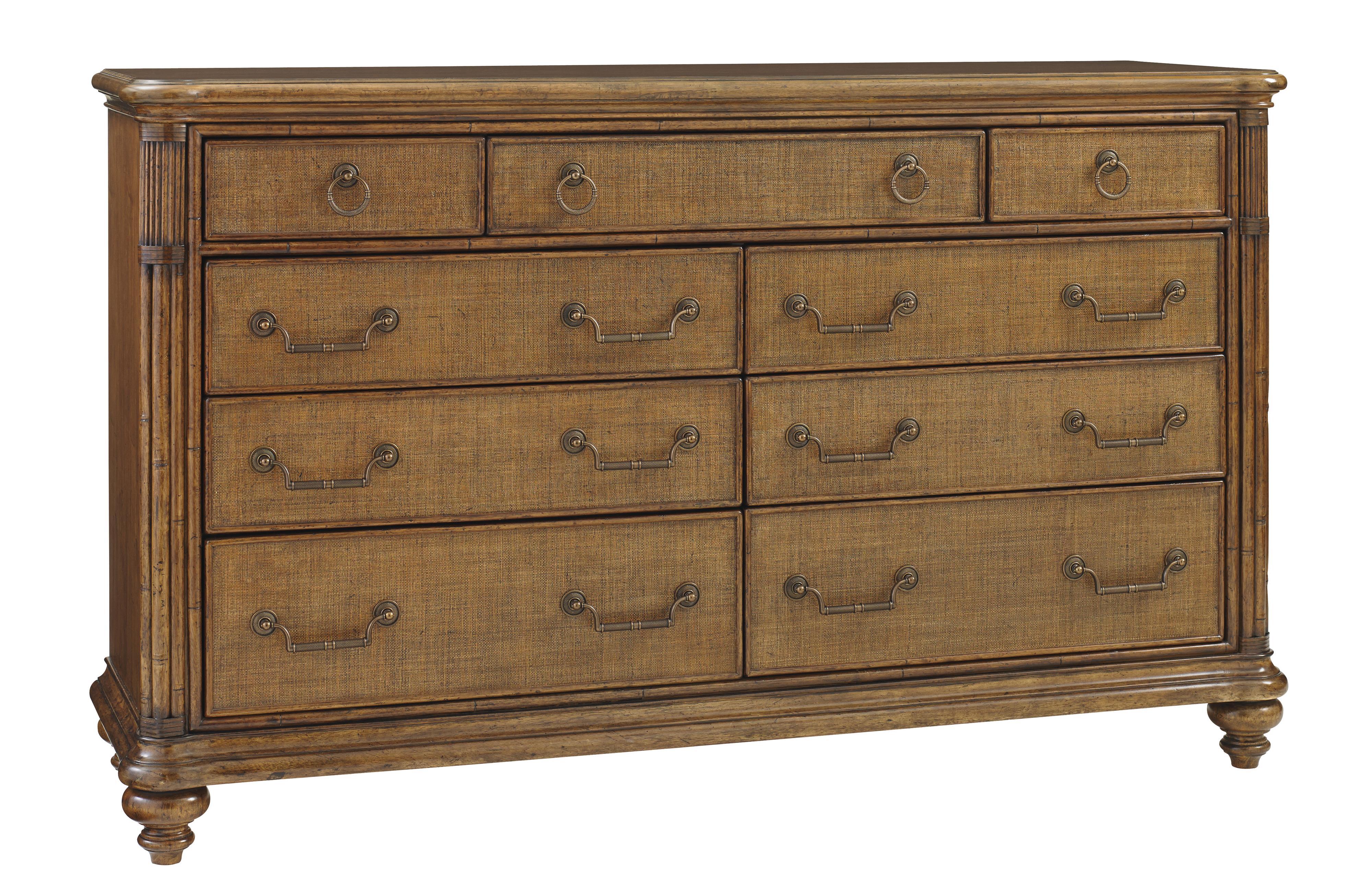 Tommy Bahama Home Bali Hai Costa Sera Triple Dresser - Item Number: 593-234