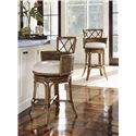 Tommy Bahama Home Bali Hai Quickship Kamala Bay Swivel Counter Stool