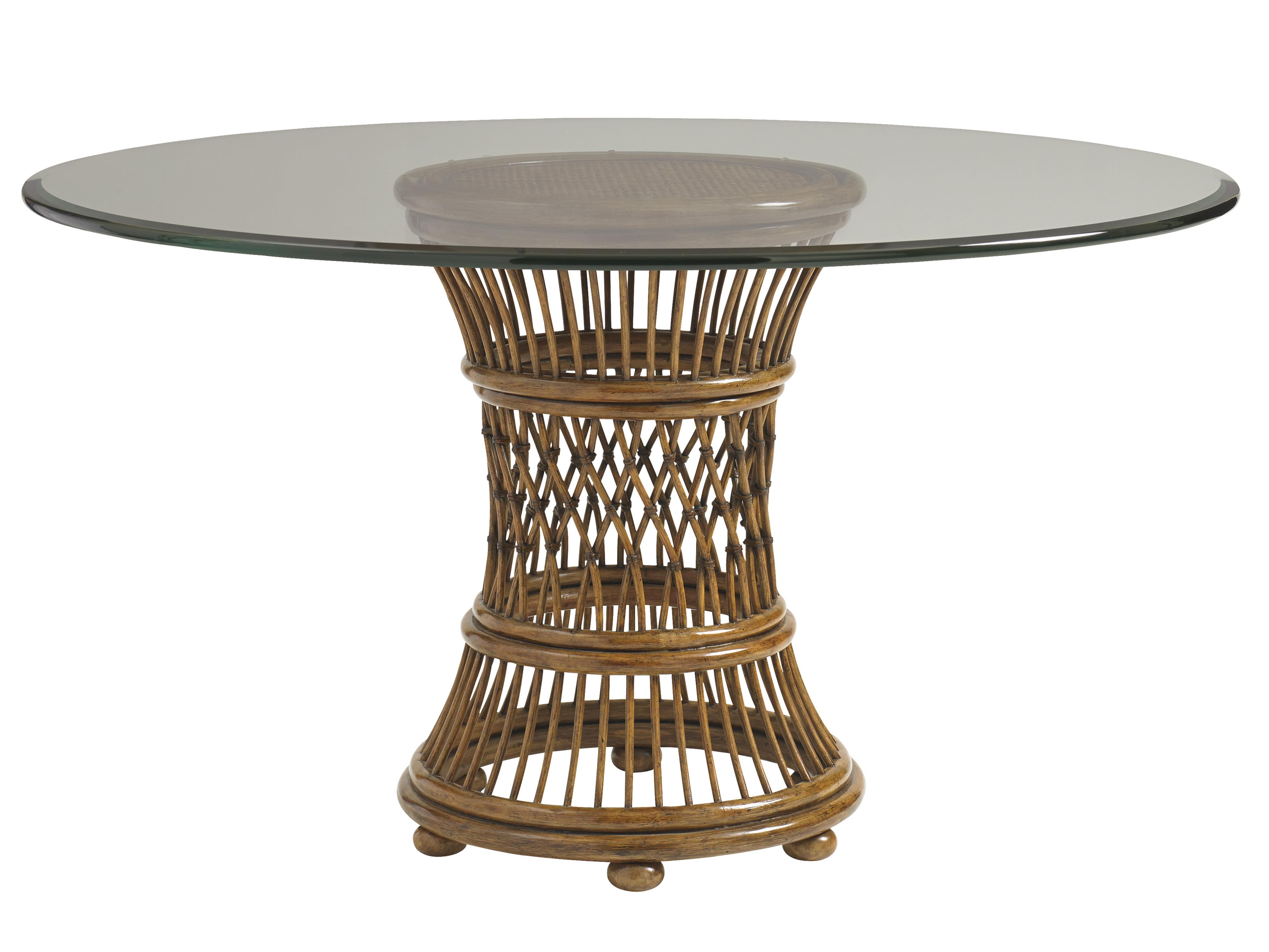 """Bali Hai 48"""" Round Dining Room Table by Tommy Bahama Home at Baer's Furniture"""