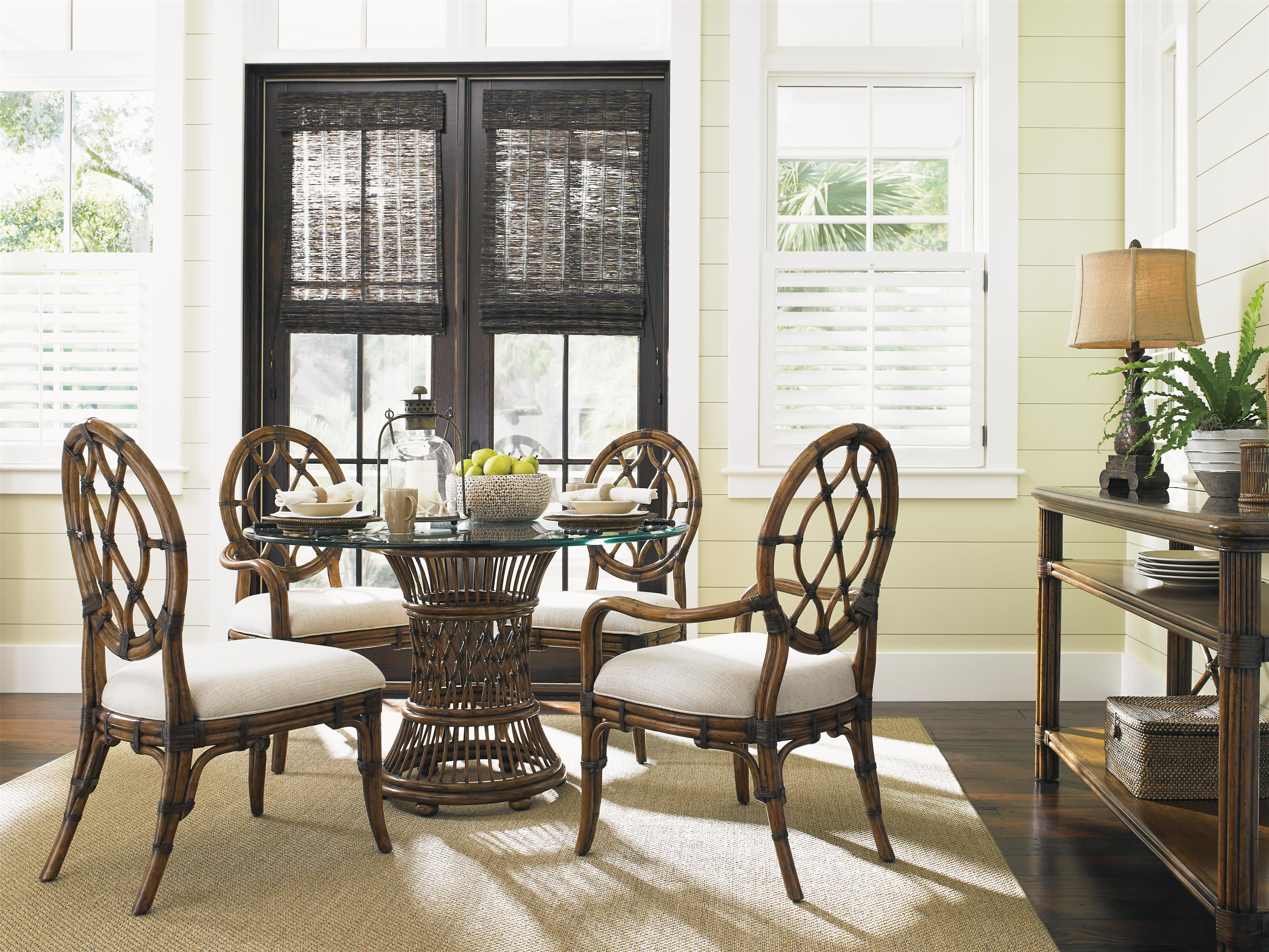 Bali Hai Tropical 5 Piece Dining Room Set by Tommy Bahama Home at Baer's Furniture